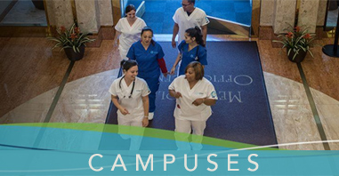 Health Care Training Campus Locations
