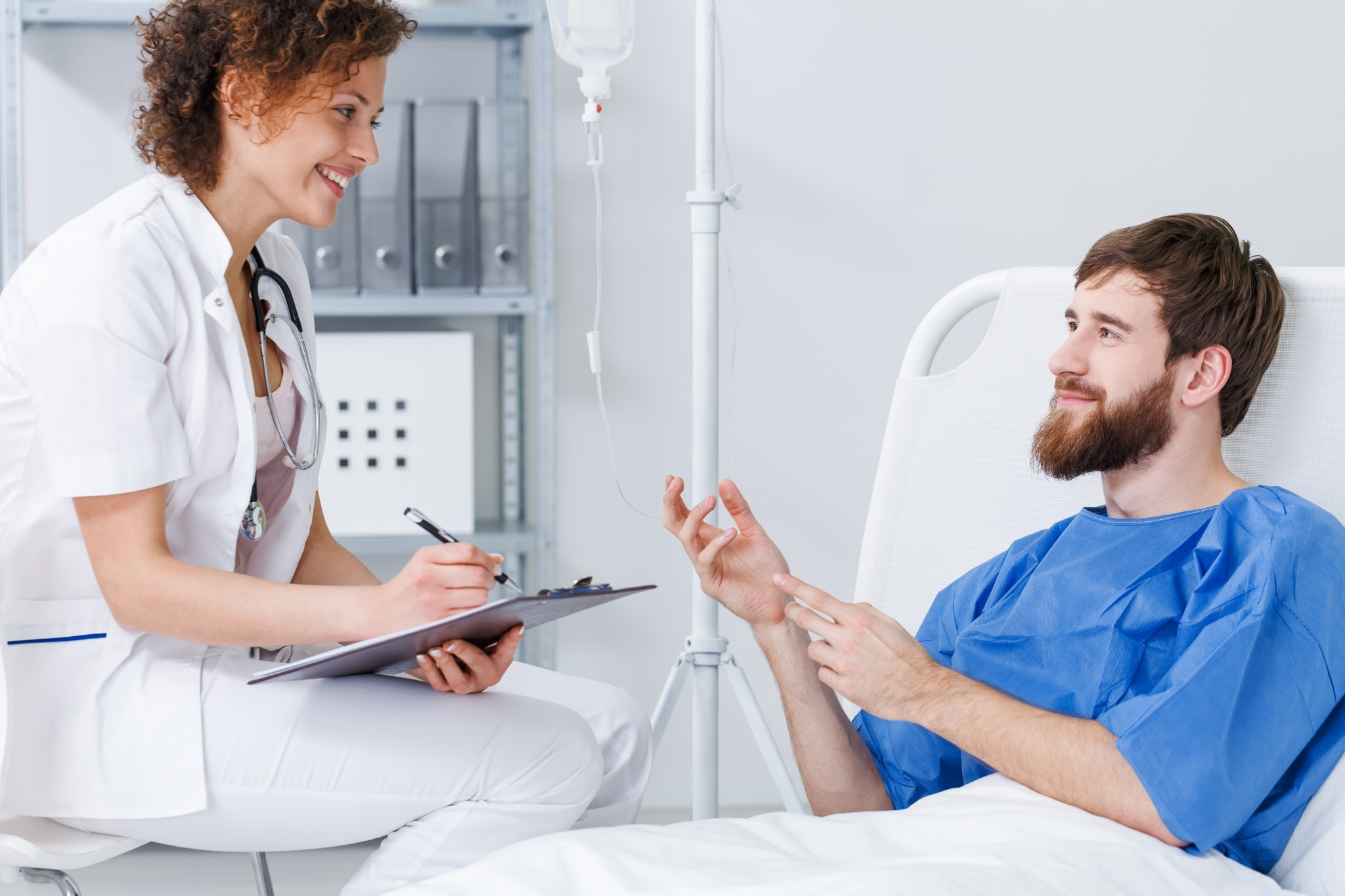 Psychiatric Nurse Practitioner with a patient