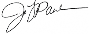Photo of Janis Paulson Signature