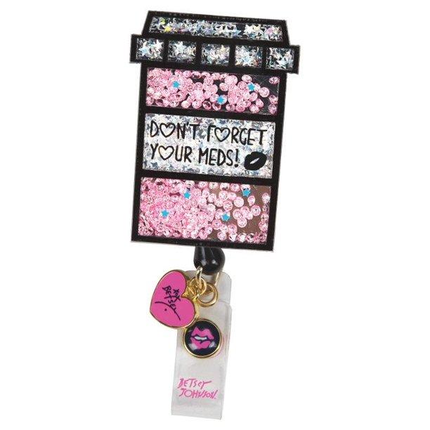 Nursing badge clip