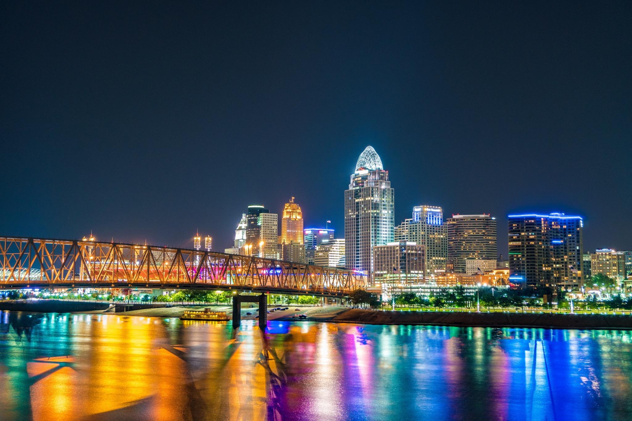 Bridge in Cincinnati, Ohio