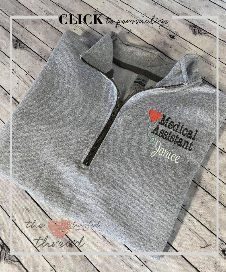 Healthcare CNA Gift Pullover RN Gift Medical Assistant Nurse Pullover Medical Sweatshirt Nurse Sweatshirt CNA Sweatshirt Nurse Gift