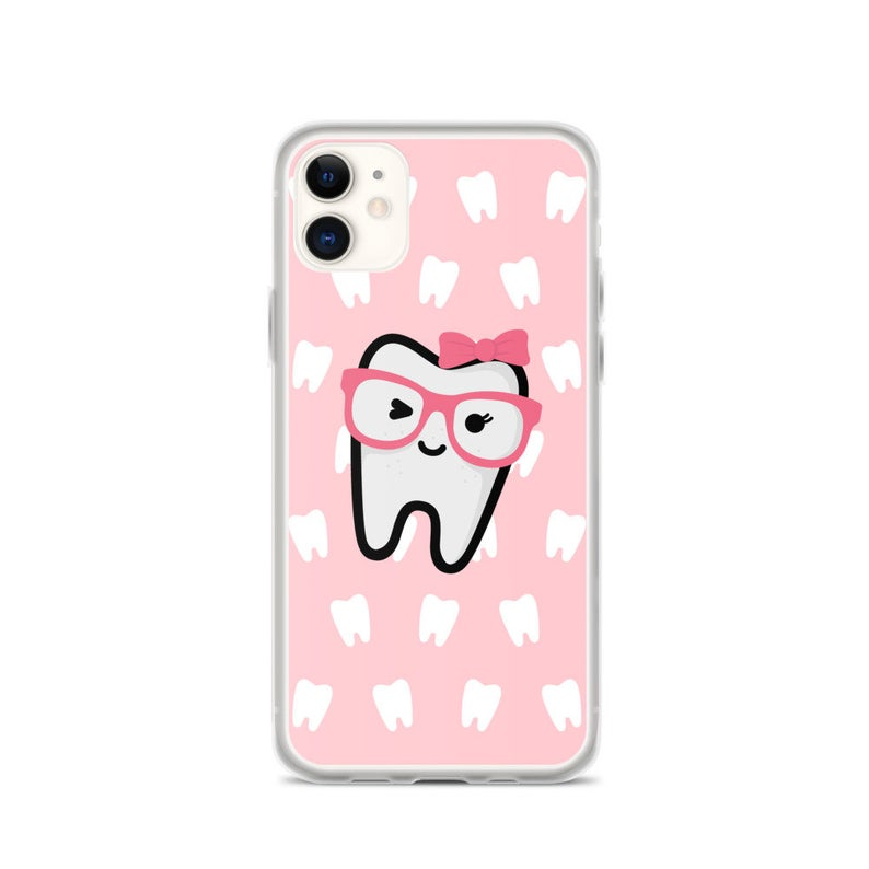 Tooth pattern phone case